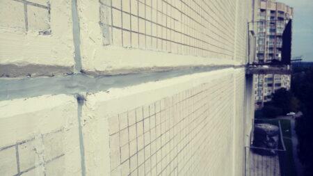Протечка вентилируемого фасада фото