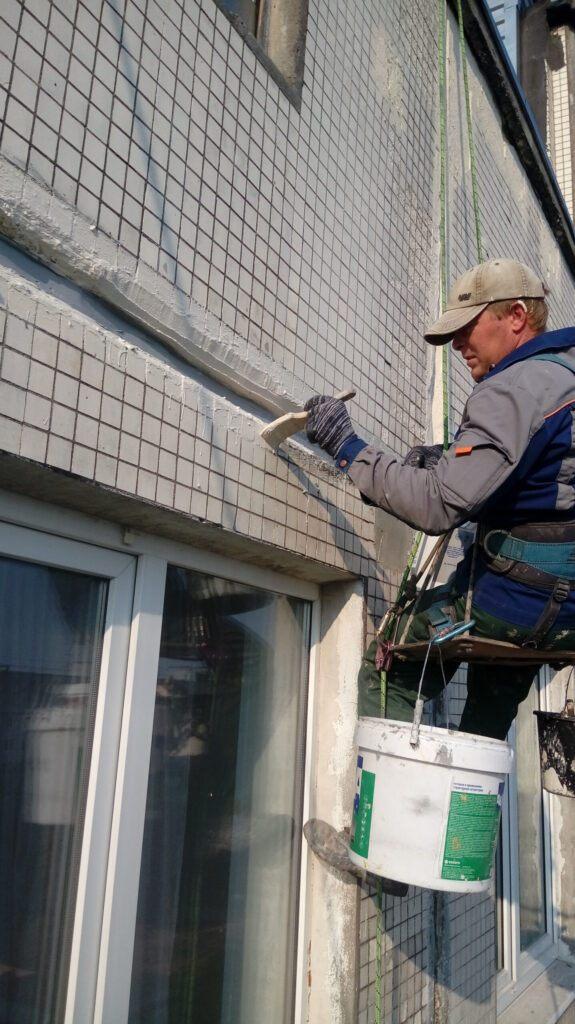 восстановление плит панельного дома