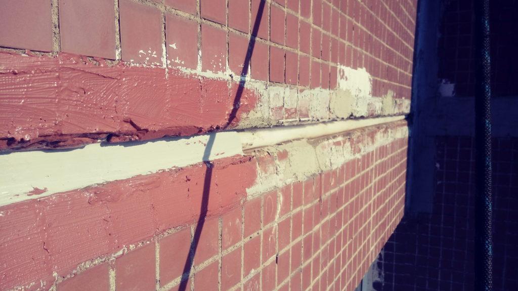 кирпичная стена трещина