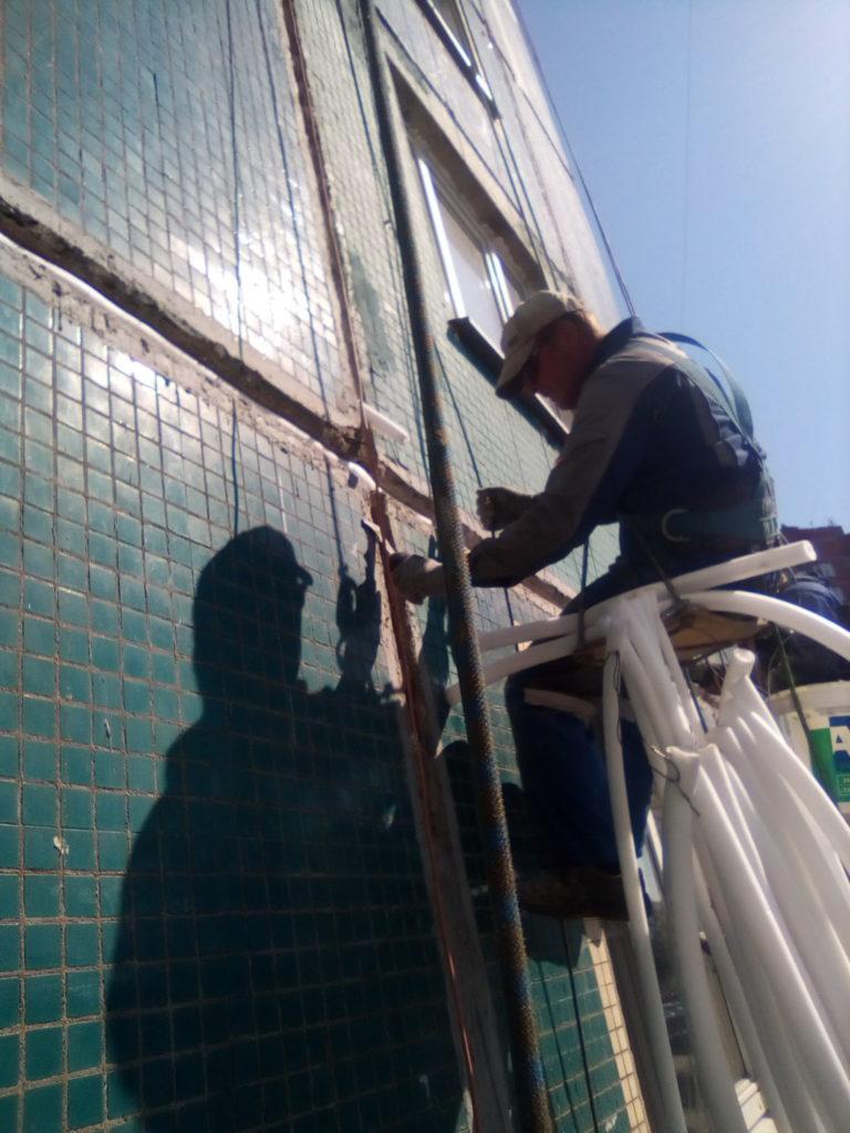 Герметизация и ремонт монолитных поясов