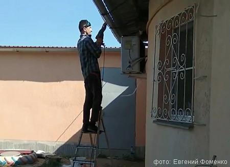 ремонтируют фасад фото