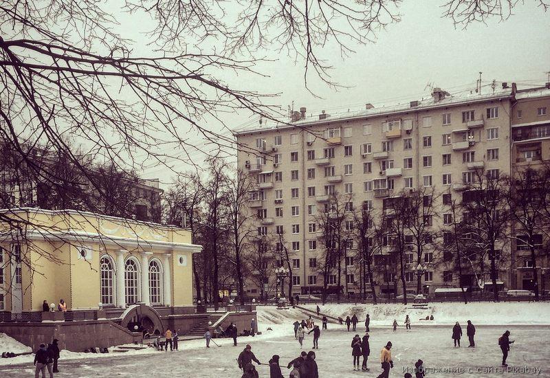 старый дом зима фото